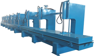 SECTIONAL GARAGE DOOR ROLL FORMING MACHINE