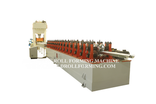 TWO WAVE GUARD RAILS ROLL FORMING MACHINE