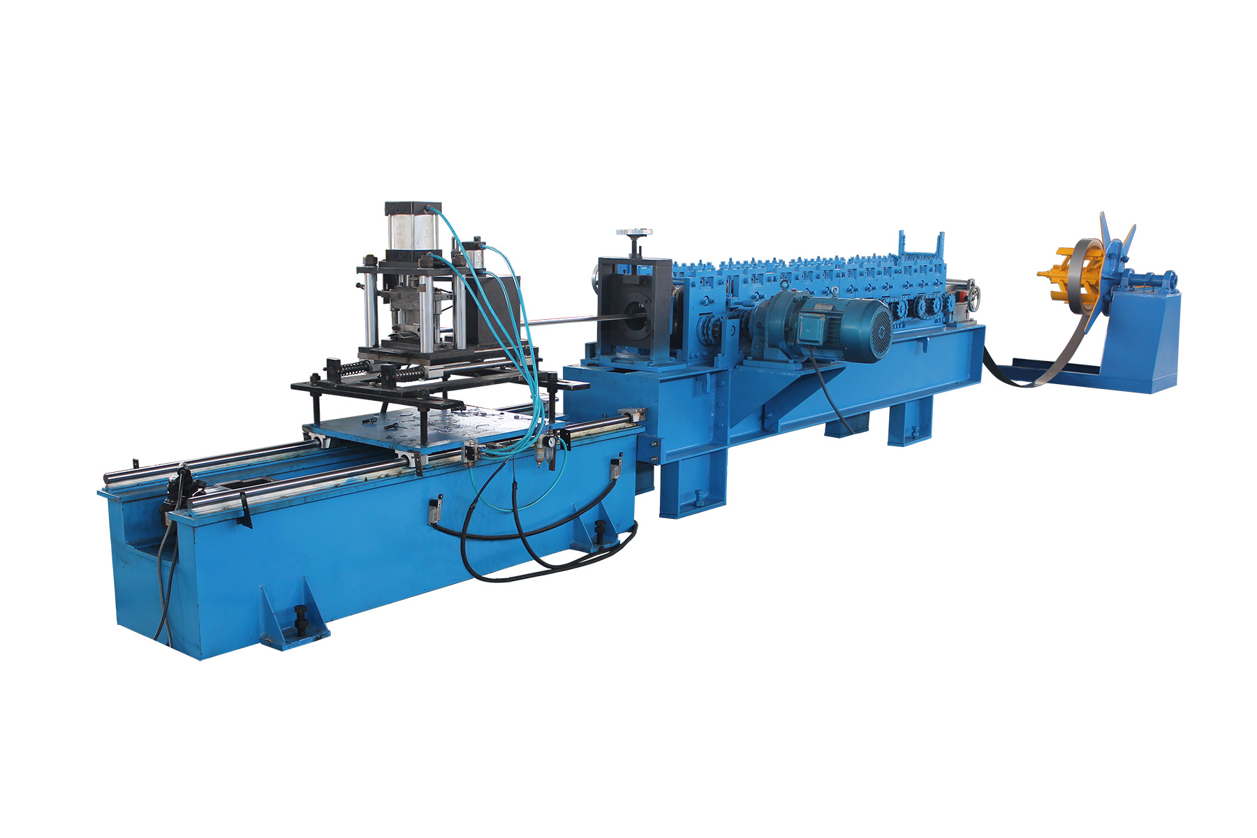 ALUMINUM SLAT ROLL FORMING MACHINE