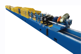 ROLL FORMING MACHINE FOR 77MM ROLLER SHUTTER DOOR