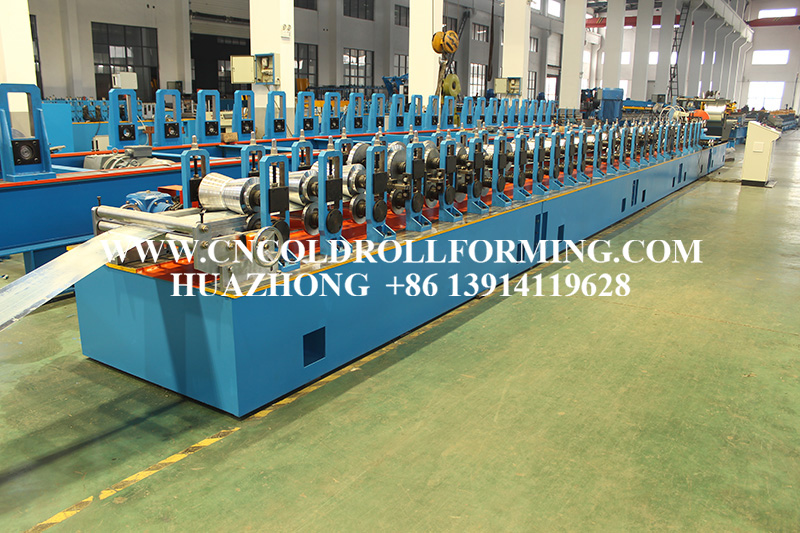 Φ70Φ80 SUNSHADE TUBE ROLL FORMING MACHINE