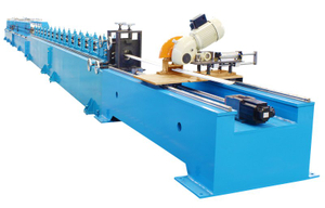 ROLLER SHUTTER DOOR FORMING MACHINE (EUROPEAN STANDARD)