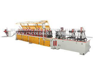 U AND ARC PROFILE TRACK ROLL FORMING MACHINE