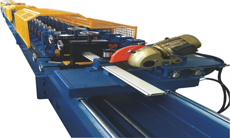 HZ-DOUBLE SHEET 85 ROLLER SHUTTER DOOR ROLL FORMING MACHINE