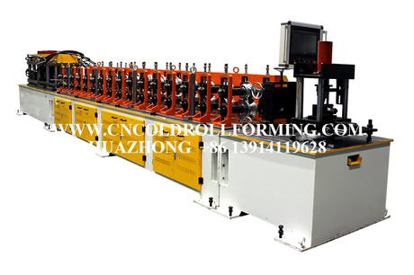 ELECTRIC CABINET ROLL FORMING MACHINE